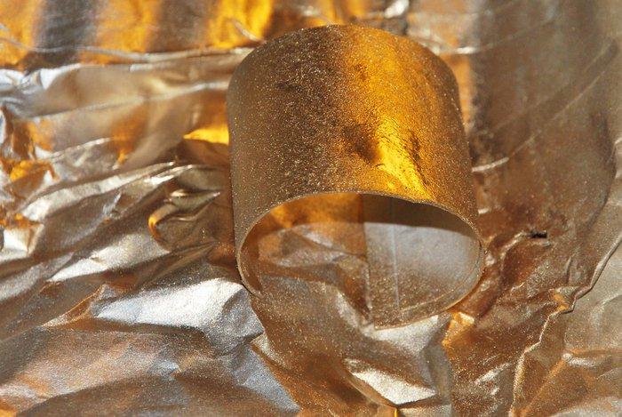 Bracelets et coffre à bijoux pour princesse-Peindre en or et argent