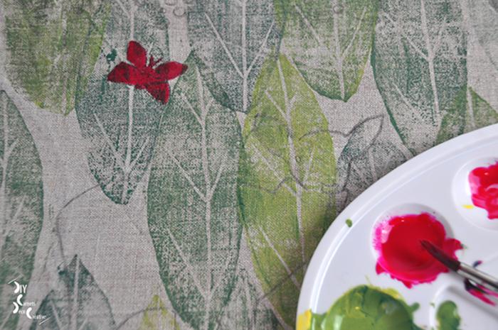Votre coussin imprimé, inspiration Frida Kahlo.-Les compléments à peindre