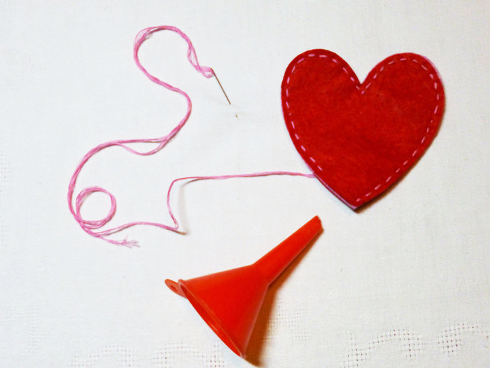 Chaufferette d'Amour-Remplissage du coeur