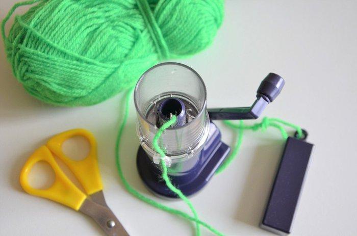 {DiY} Cadres Déco Tricotin-Fabrication du tricotin