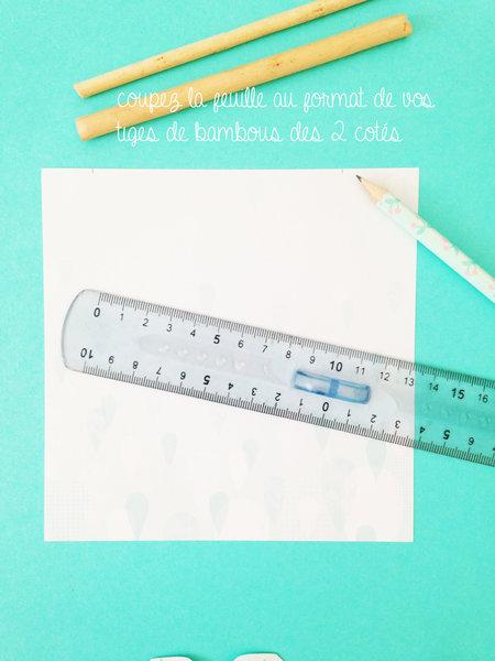 Créer de jolies bannières en papier-Le titre de votre étape ici