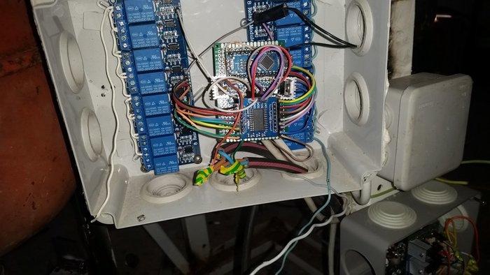 arrosage automatique 16 sorti-module relais