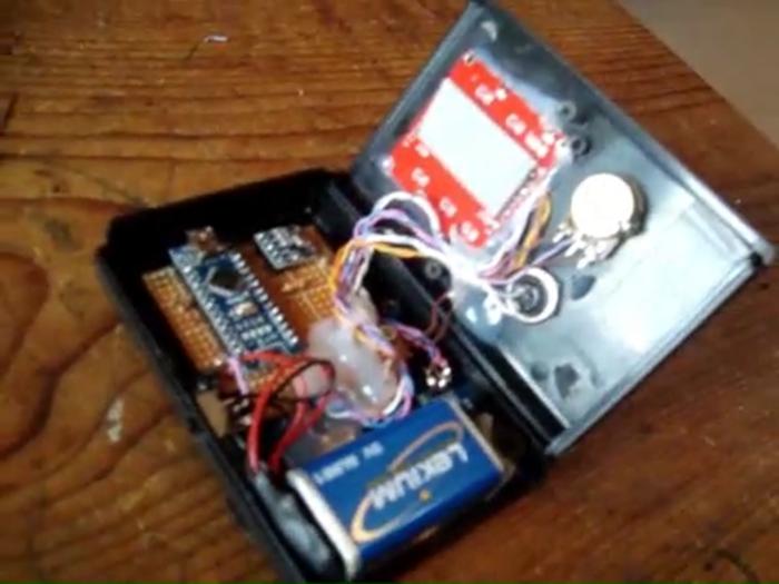 Alti-variomètre - Arduino-Le cablage