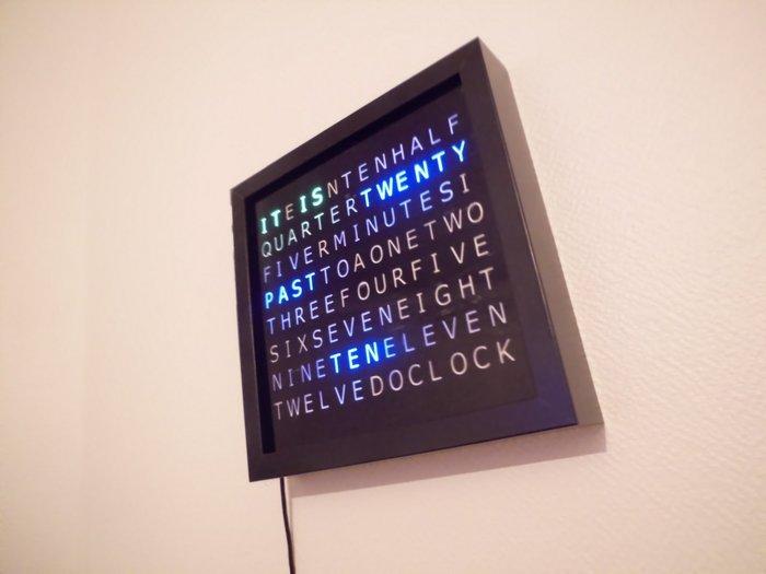 WordClock, Laisser parler le temps.-Finalisation