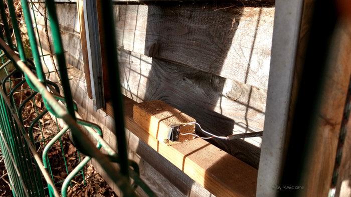 Poulailler: porte et lumière automatique-Les capteurs