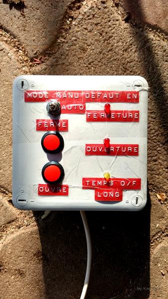 Poulailler: porte et lumière automatique-Schéma arduino avec mise en situation