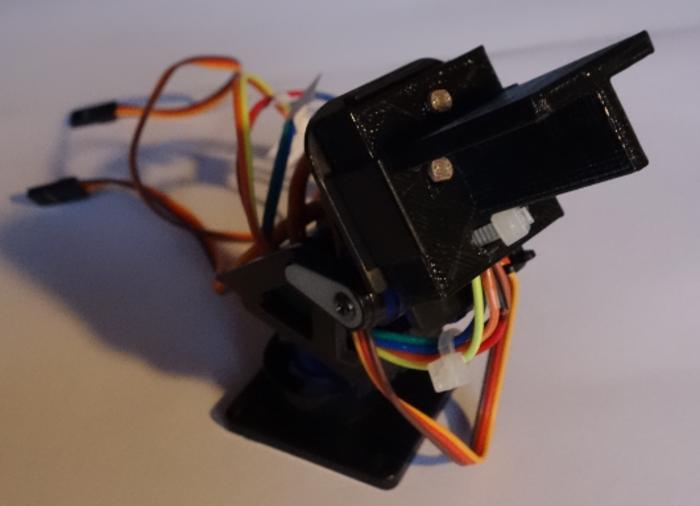 Tracker solaire-Le capteur