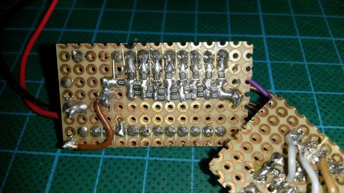 La boîte à Meuh électronique-Un peu de soudure