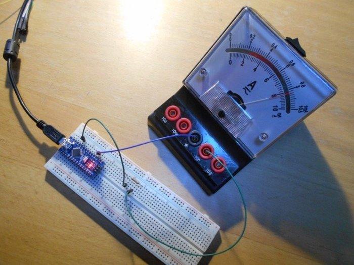 Horloge analogique - tâtonnements...-Premier test... et déconvenue ;o)