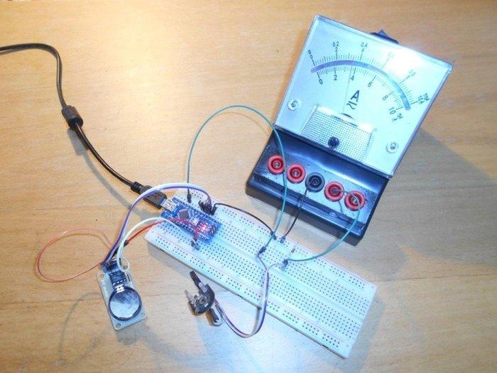 Horloge analogique - tâtonnements...-Programmation de l'horloge... enfin !