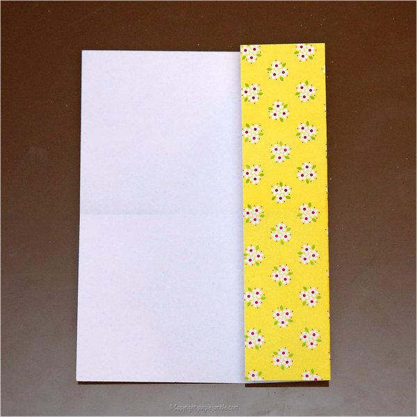 Petits lapins origami-Pliage 1ère partie