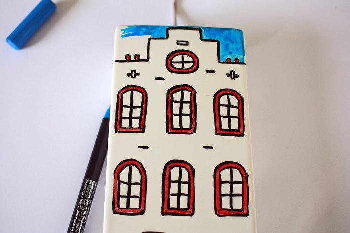 Un objet du quotidien revisité en mode Amsterdam !-On passe à la couleur !