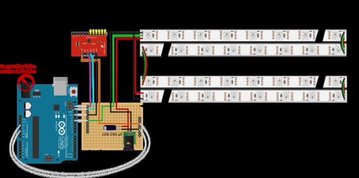 Table tactile : retrogaming et lumière d'ambiance-Reconnecter les segments