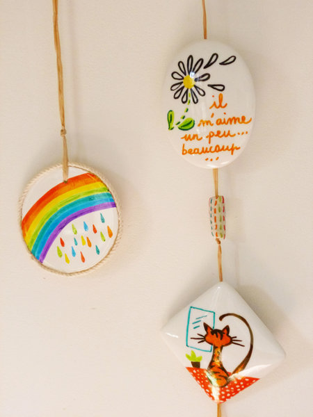 Un porte (petits) bonheurs-Savourez...