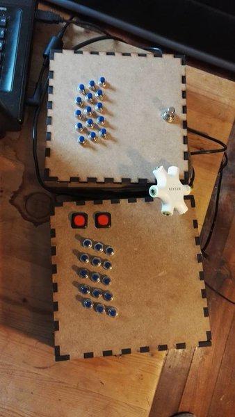 Création d'un accordéon MIDI-Choix des boutons