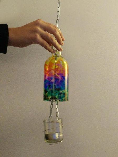 Lanternes en verre recyclé-C'est fini !