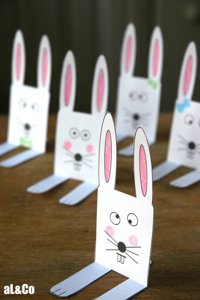 Les p'tits lapins tout fous de Pâques-Les copains lapins