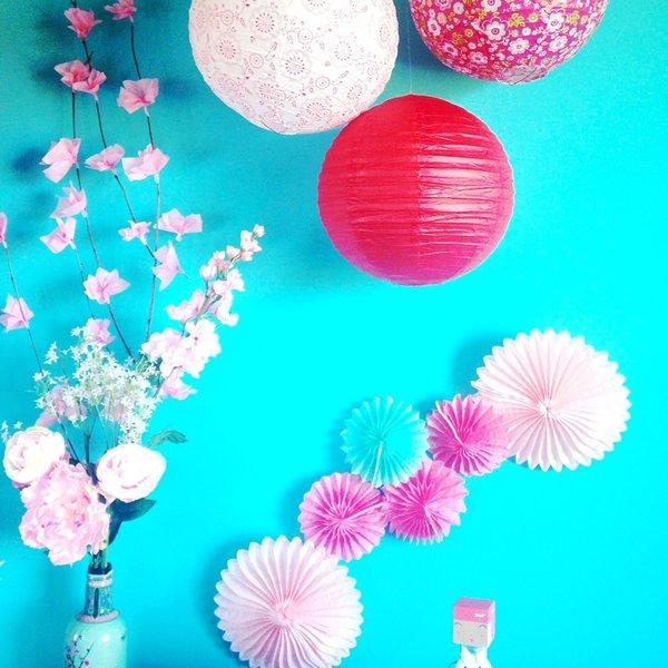 Fleurs de cerisier japonais-Et voilà !