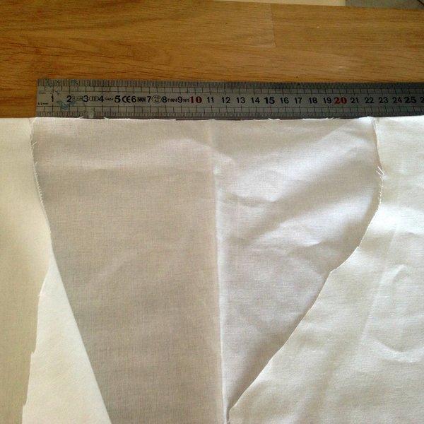 Un kimono sans couture-Découper le tissu