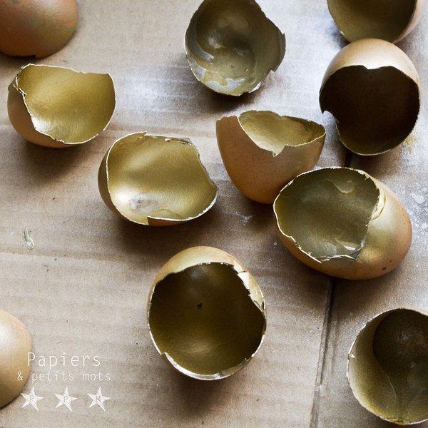 Nid de coquilles !-Intégrer les coquilles d'œufs au décor