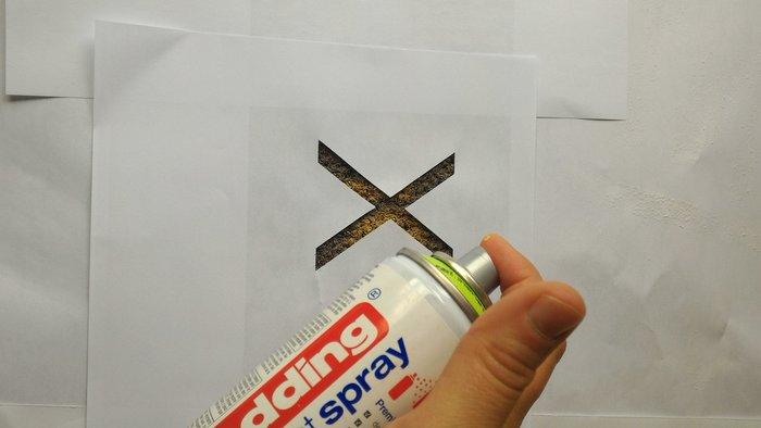 DIY : Customiser son paillasson ou son tapis- Peindre – partie 2