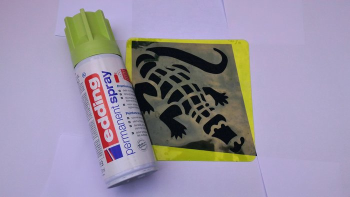 DIY : Customiser son paillasson ou son tapis- Variante possible
