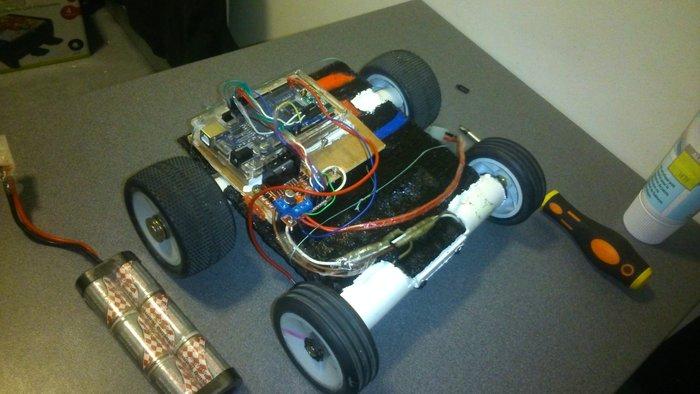 CREATION D'UN ROBOT SEMI-HUMANOIDE-Création d'une base roulante