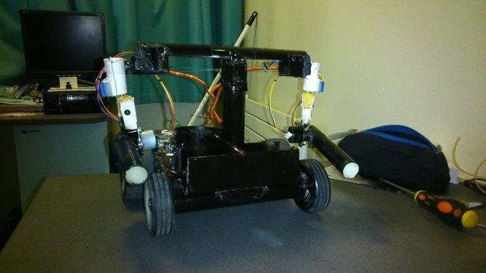 CREATION D'UN ROBOT SEMI-HUMANOIDE-envol de l'aigle
