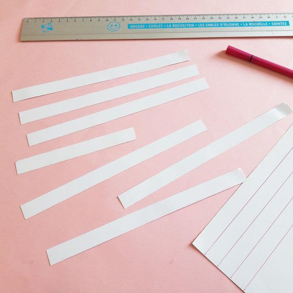 DIY & POISSONS EN PAPIER-Coupez le papier