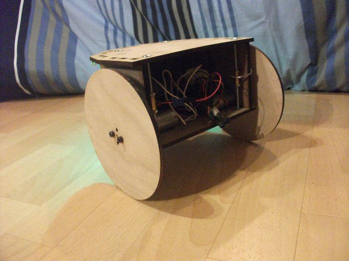"""Robot """"ABC"""" en bois- Vue d'ensemble du robot"""