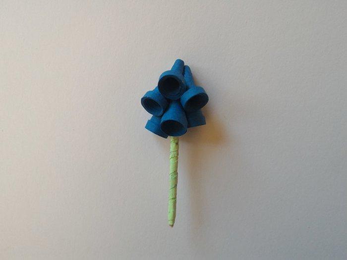 Fleurs en papier - Quilling-Fabriquer une fleur clochette - étape 2