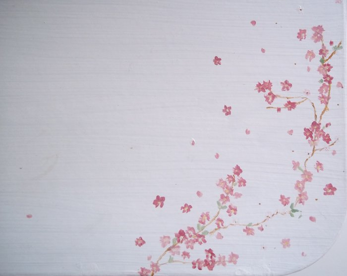 Valisette Fleurie-Etape 3: Peindre les fleurs