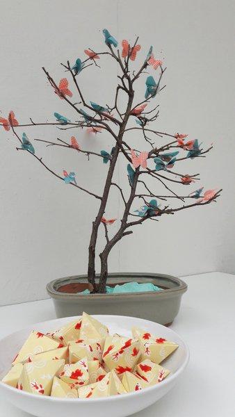 L'arbre aux papillons-Finalisation du projet