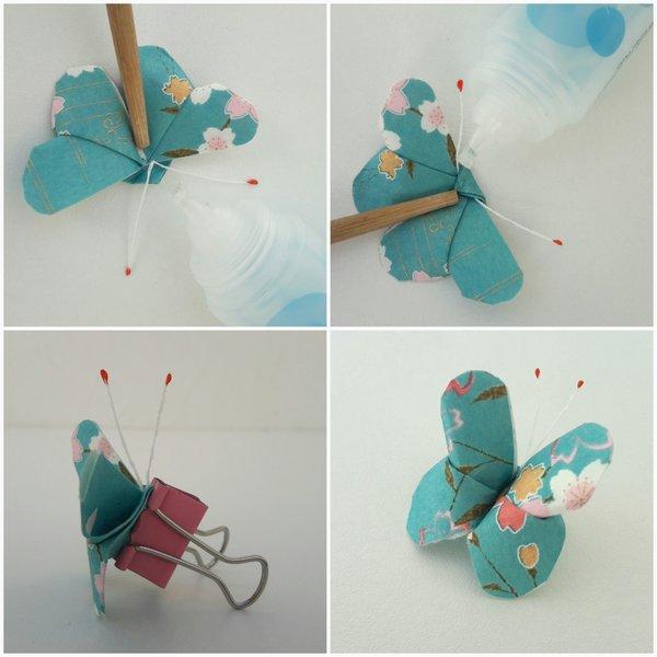 L'arbre aux papillons-Les papillons