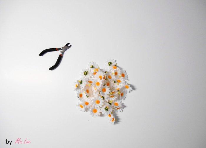 Printemps // Une lampe de chevet fleurie-Le titre de votre étape ici