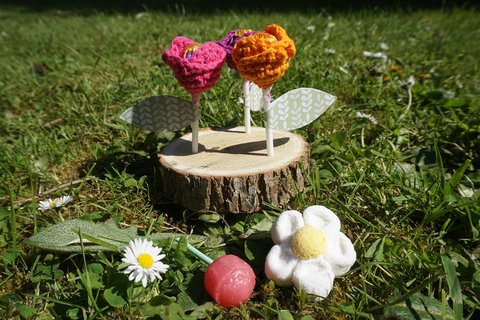 Mini-sucettes tulipes-Tada !