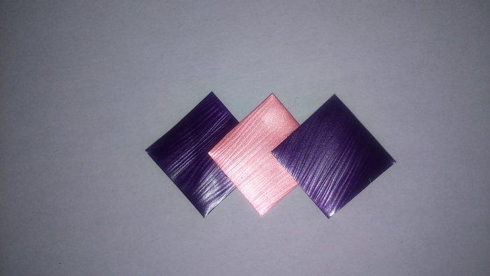 Boucles d'oreilles en capsule recyclée-coller les carrés
