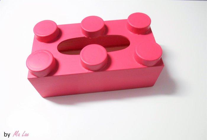 DÉCO // BOÎTE À MOUCHOIRS LEGO-Le titre de votre étape ici