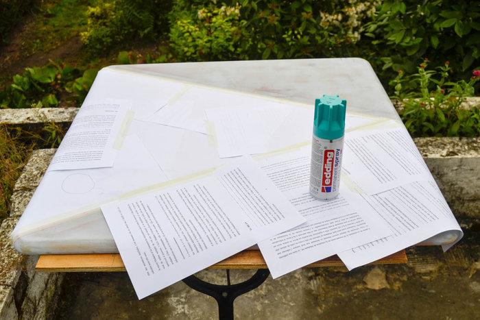 Moderniser une table en porte-plantes rétro-PEINDRE