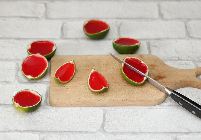 Gello Shot pastèque #CocoCrea12-Finalisation