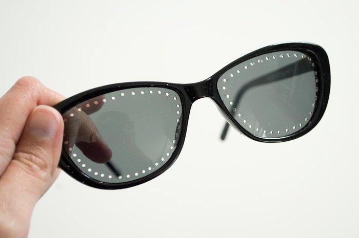 Broder des lunettes de soleil / DIY-Perçage des lunettes