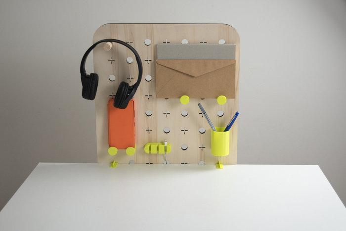 Plug and Make-mise en place organiseur bureau