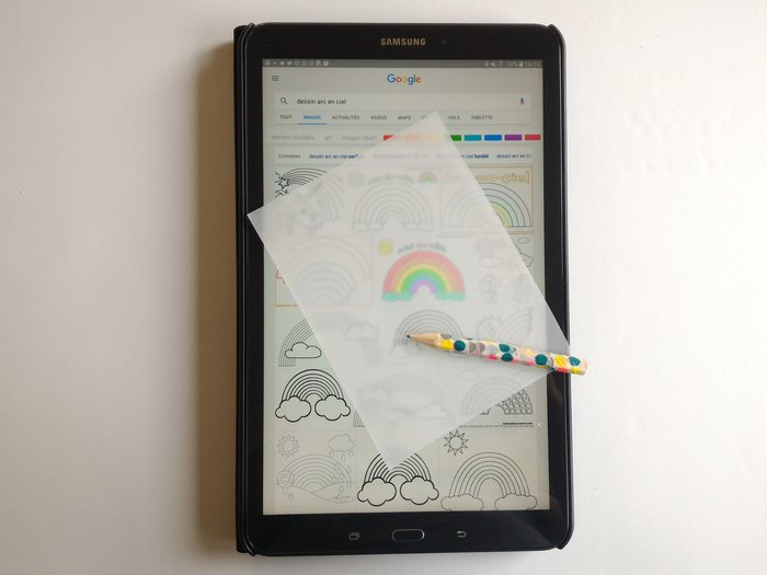 Carnet Rainbow-Faire les nuages