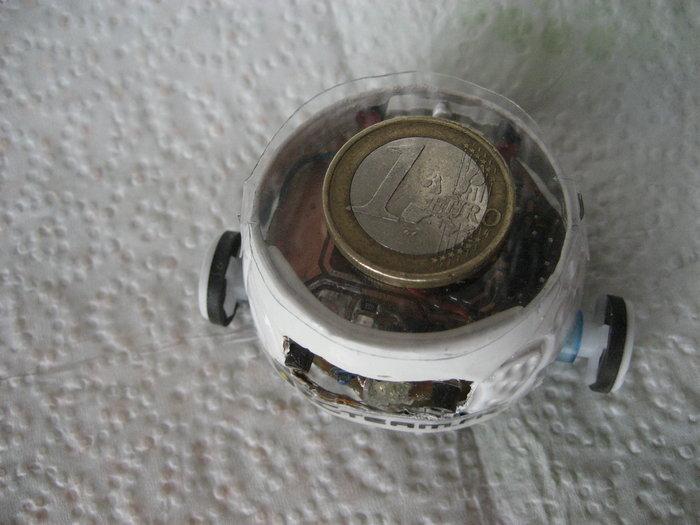 TinyBot24 mini robot autonome  4cm  25 Gr -Déplacement de TinyBot24