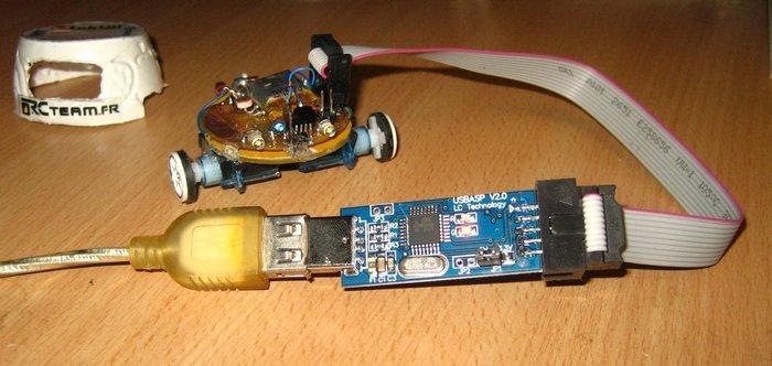TinyBot24 mini robot autonome  4cm  25 Gr -La Programmation