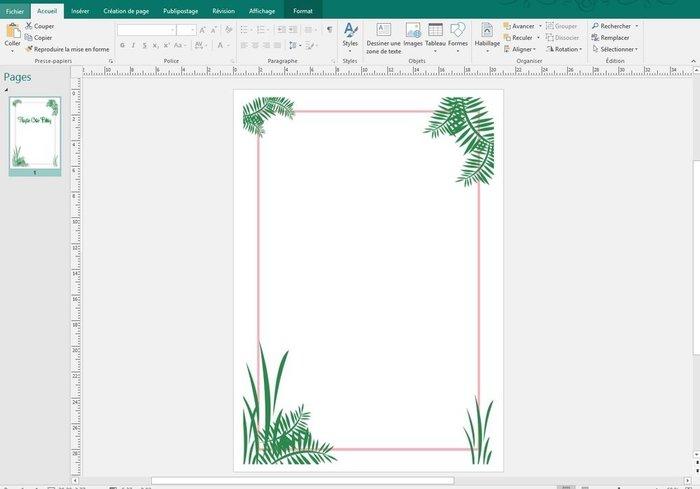 Impression textile sur affiche Gold Tropic #CocoCrea2-L'impression