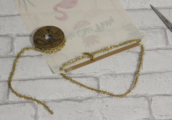Impression textile sur affiche Gold Tropic #CocoCrea2-L'accroche