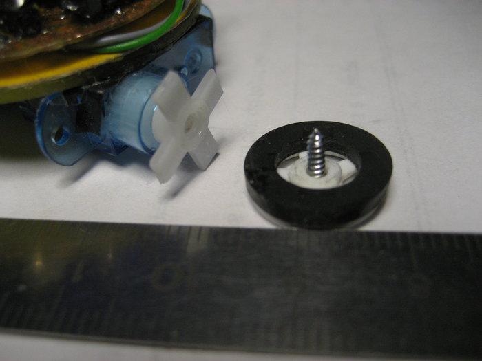 TinyBot24 mini robot autonome  4cm  25 Gr -Les Moteurs