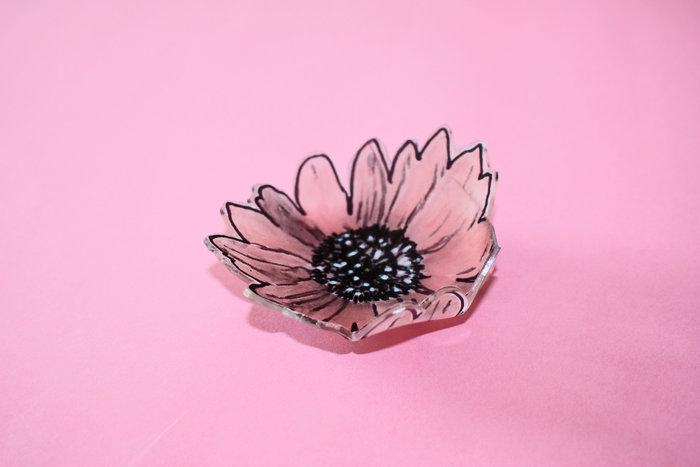 Faire des coupelles range bijoux pour la fête des mères !!-Coloriez l'intérieur du dessin