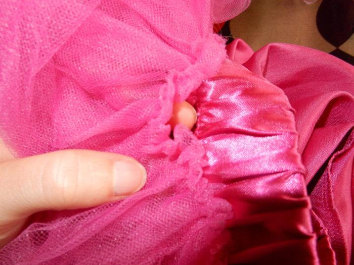 DIY Retour en enfance : Veilleuse Princesse Poppy-préparation des cheveux de Poppy